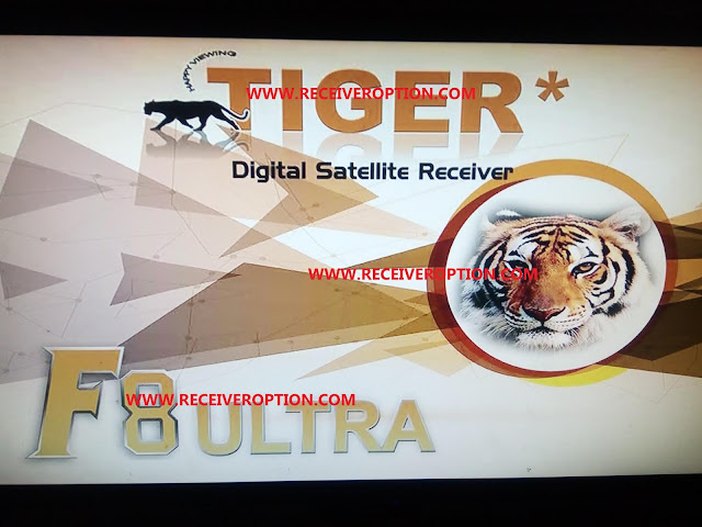 TIGER F8 ULTRA HD RECEIVER NEW SOFTWARE