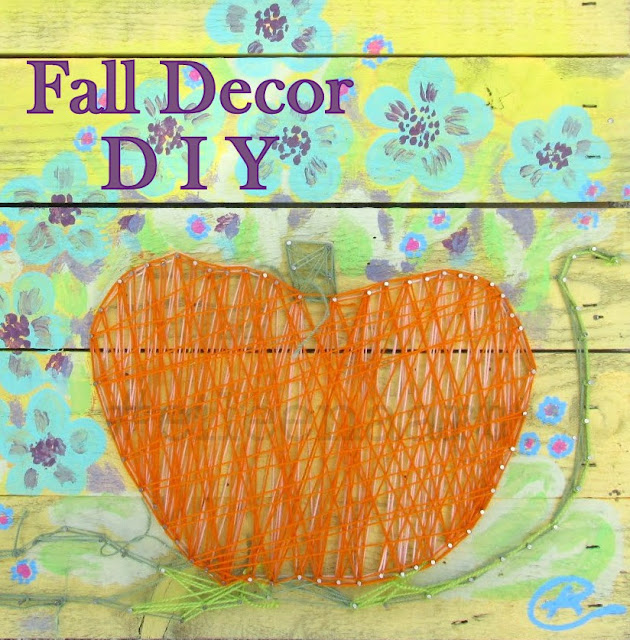 Fall Decor D I Y: Upcycling  #eileenaart