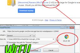 Mengatasi Gagal Download File Google Drive di IDM Yang Berubah Jadi ServiceLogin.HTM