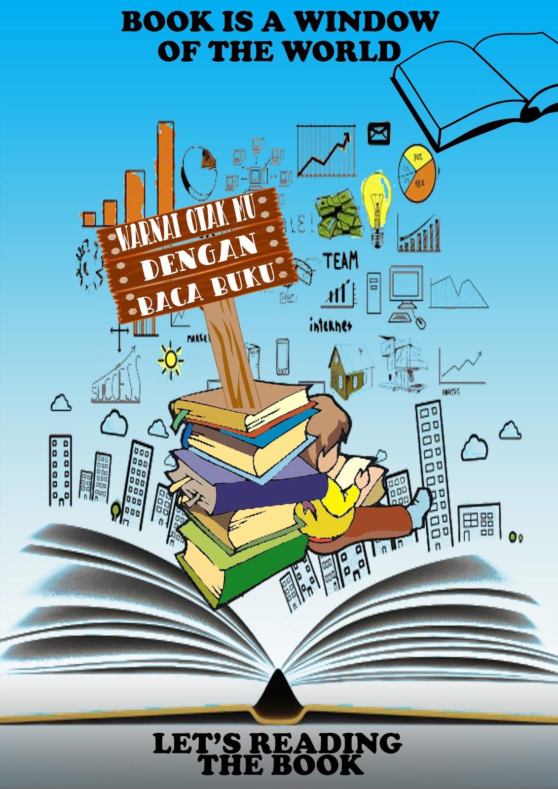 Contoh Postee Yg Berisi Ajakan Membaca Buku : contoh, postee, berisi, ajakan, membaca, Biasa, Poster, Tentang, Ajakan, Membaca, Koleksi