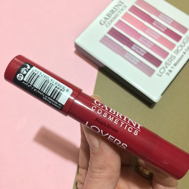 gabrini cosmetics lovers rouge ruj 05