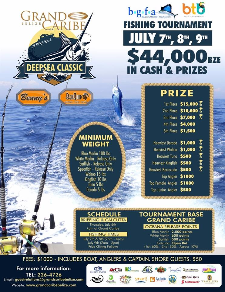 Grand Caribe 2017 Fish Tournament
