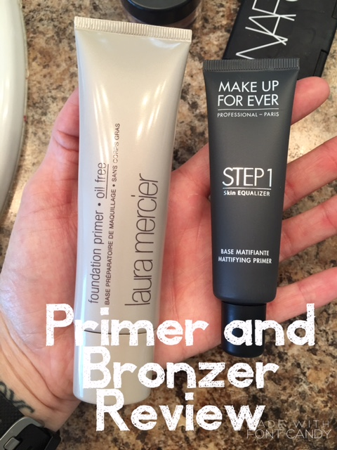 laura mercier primer make up forever step 1 primer