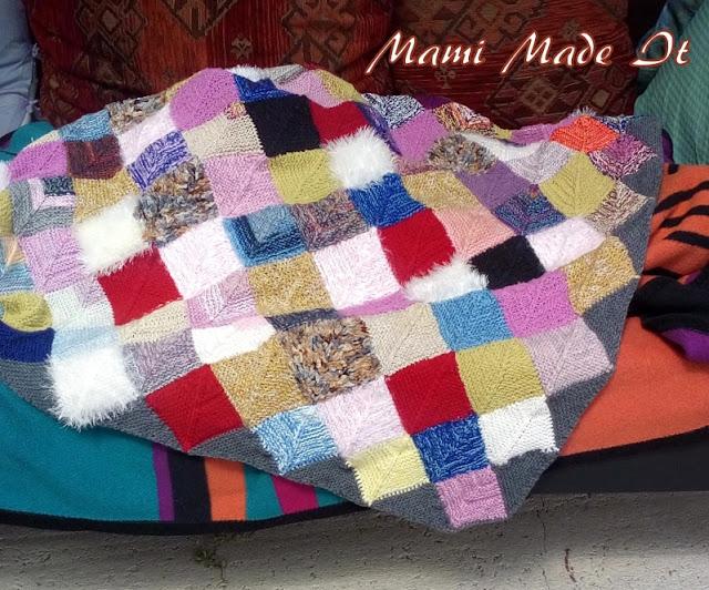 Nachträglich Rand für Frau Schulz Decke stricken - Knit border for my Blanket