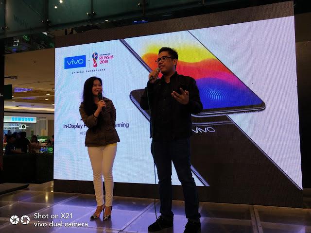 Mobile Fest 2018: Vivo X21 Is An Eyecatcher