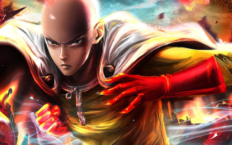 Saitama One Punch Man 4k Wallpaper 133