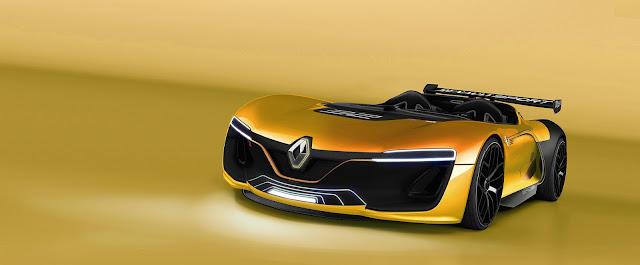 2017 Renault Spider Renderings - #Renault #Spider #concept_car #supercar