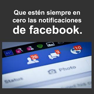 TOC : Trastorno obsesivo compulsivo de dejar en 0 las notificaciones de Facebook.