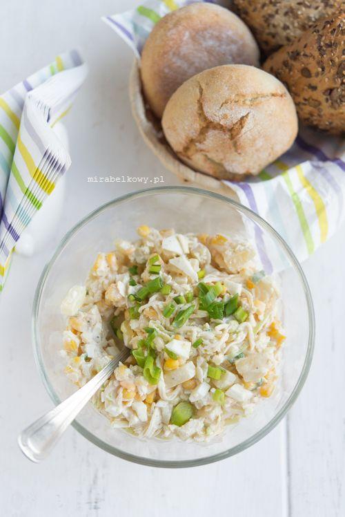 Mirabelkowy Blog Salatka Z Ananasem Kukurydza I Selerem
