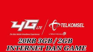 Paketan Telkomsel Murah Hanya 20rb Untuk Internet