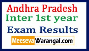 AP Inter  1st year Exam Results 2017