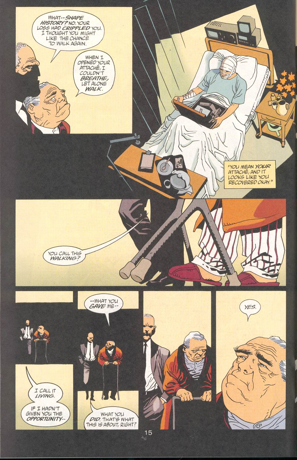 Read online 100 Bullets comic -  Issue #27 - 17