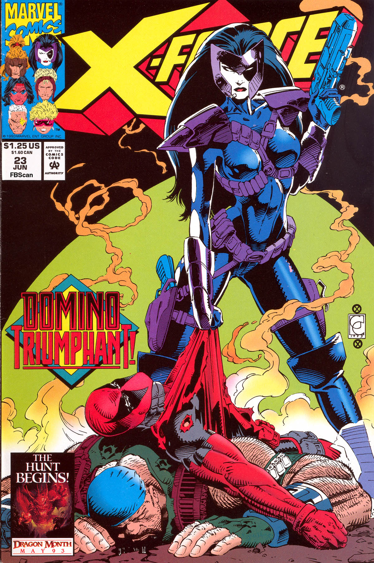 Read online X-Force (1991) comic -  Issue #23 - 1