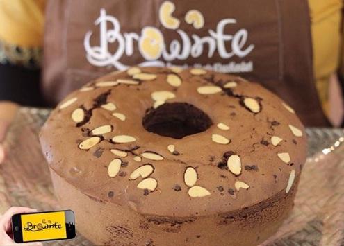 brownte kendari roti bolu tuban coklat