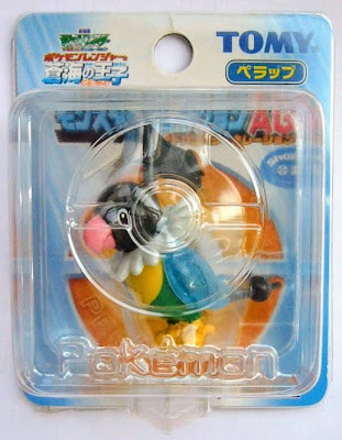 Chatot figure clear version Tomy Monster Collection 2006 movie promotion