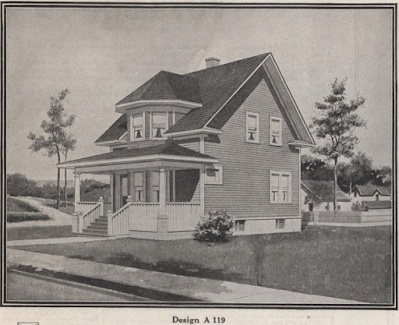 catalog image of chicago millwork supply co lookalike for sears no 190