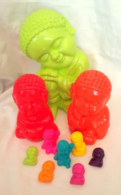 Budas pintados y laqueados a mano (B1002) Babuska