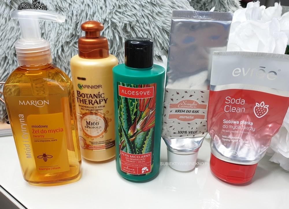 DENKO PAŹDZIERNIK 2018 - żel Marion, Garnier Botanic Therapy, micel Aloesove, krem Scandia, Evree Soda Clean