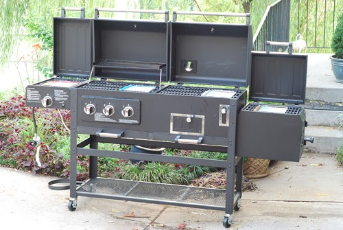smoke hollow smoker grill sear combo unit. Black Bedroom Furniture Sets. Home Design Ideas