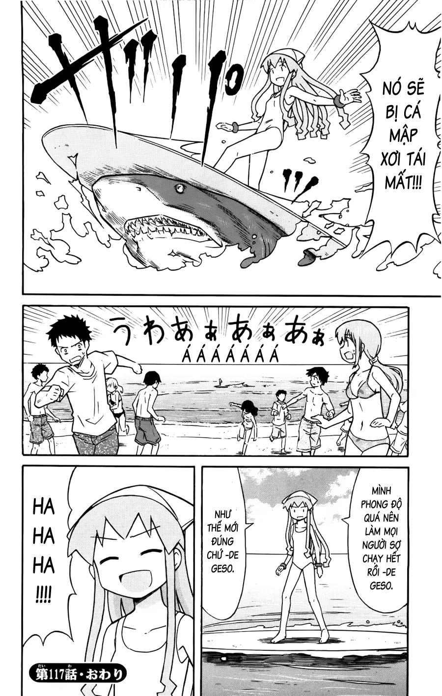 Shinryaku! Ika Musume Chap 117 - Truyen.Chap.VN