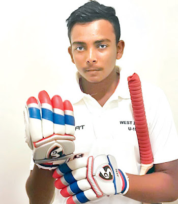 Prithvi Shaw Named India's Captain for U-19 World Cup