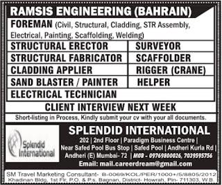 Ramsis Engineering Company jobs in Bahrain