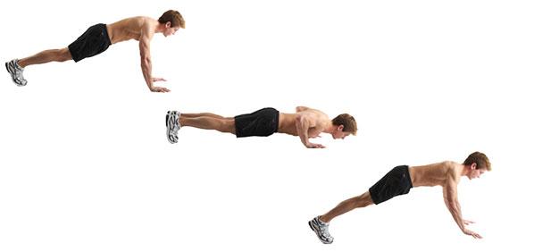 Cara Melakukan Push up, Sit up, dan Shoulder Press