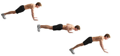 Push up bentuk latihan kebugaran - berbagaireviews.com