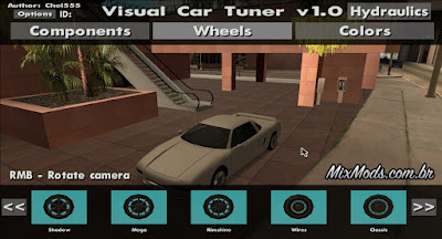 cleo visual car tuner gta