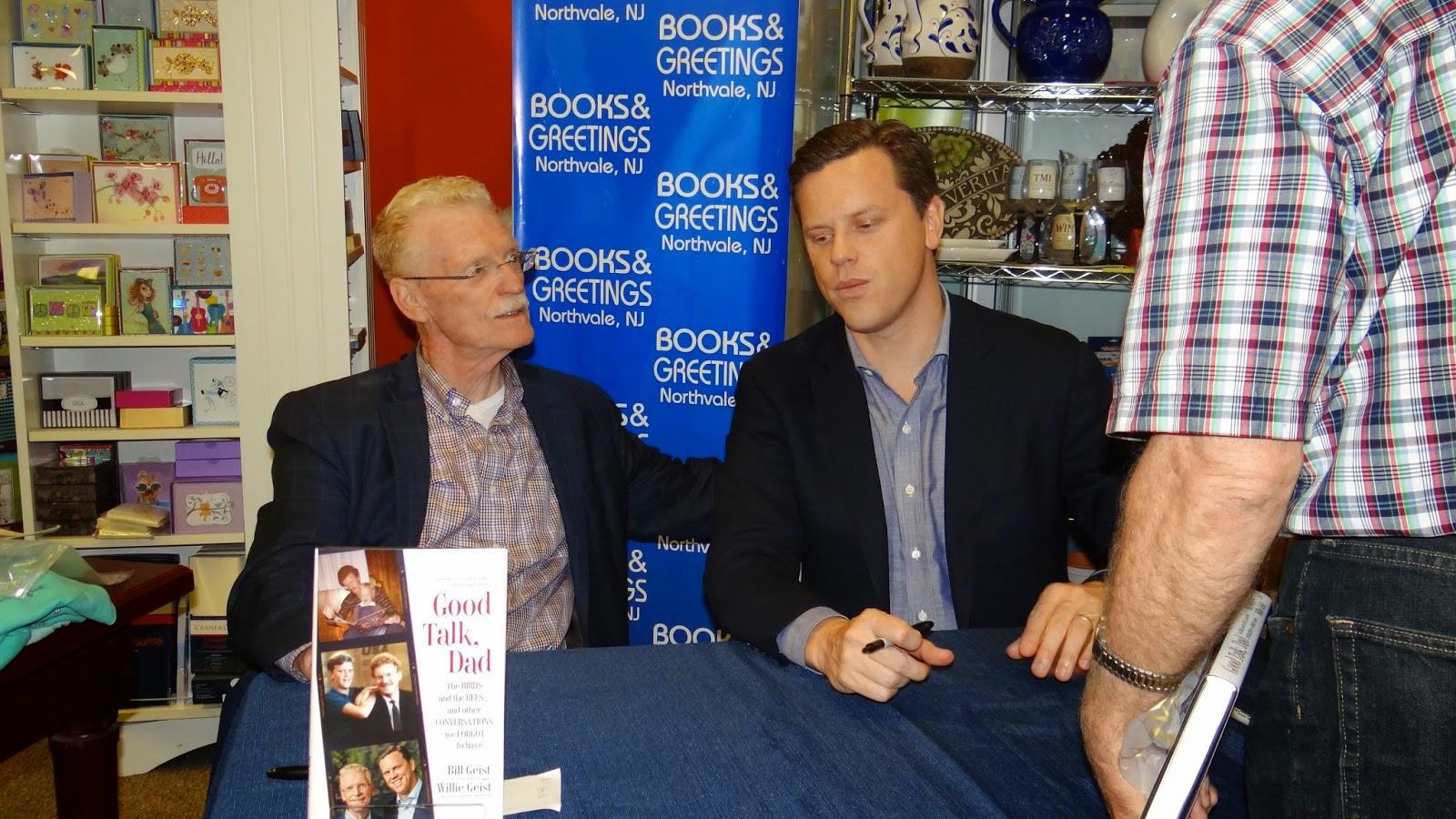 Suzeebehindthescenes Bill And Willie Geists Book Good Talk Dad