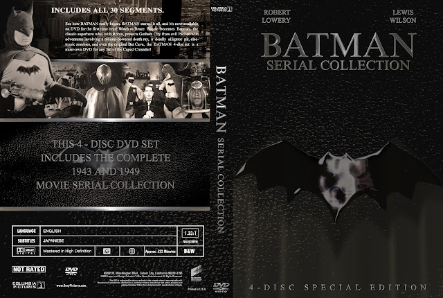 Batman Serial Collection DVD Cover