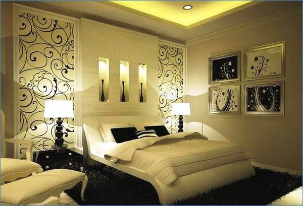 Desain Interior Kamar Tidur Romantis Seperti Hotel