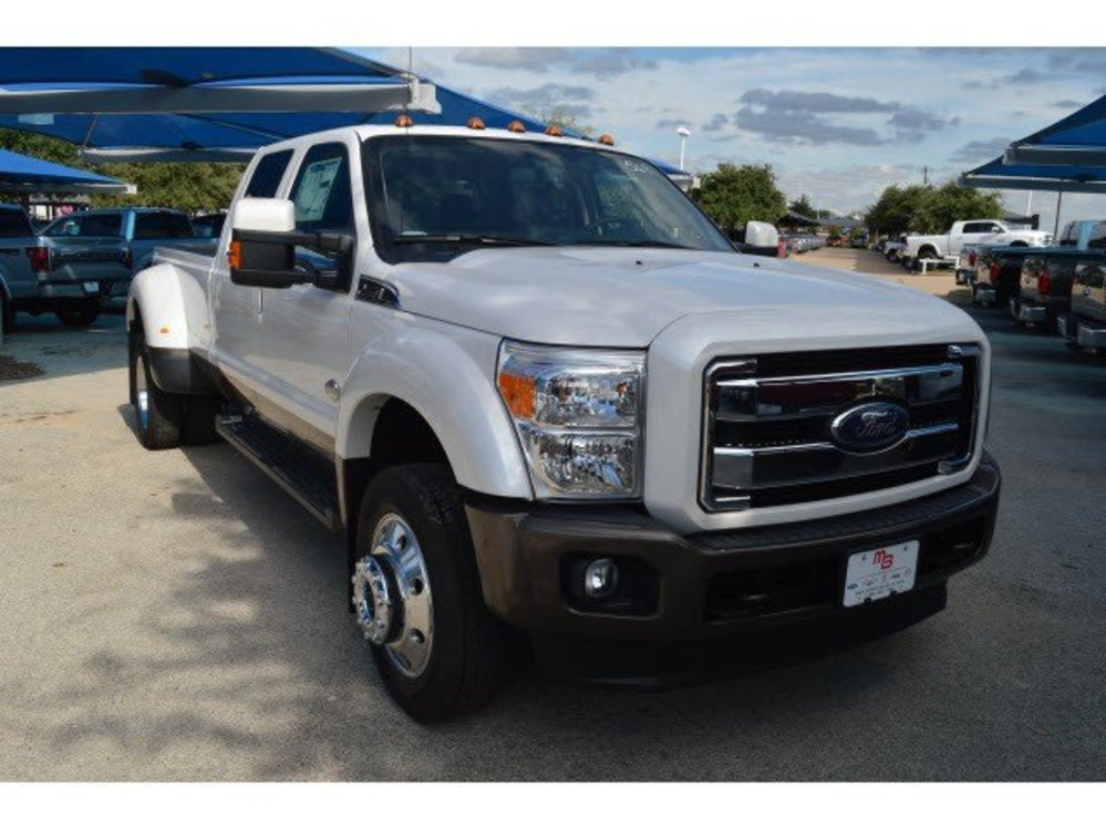 Tdy S New 2016 Ford F450 4x4 King Ranch Fx4 Stroke Sel White Platinum Texas Truck 817 243 9840