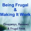 Being frugal and making it work