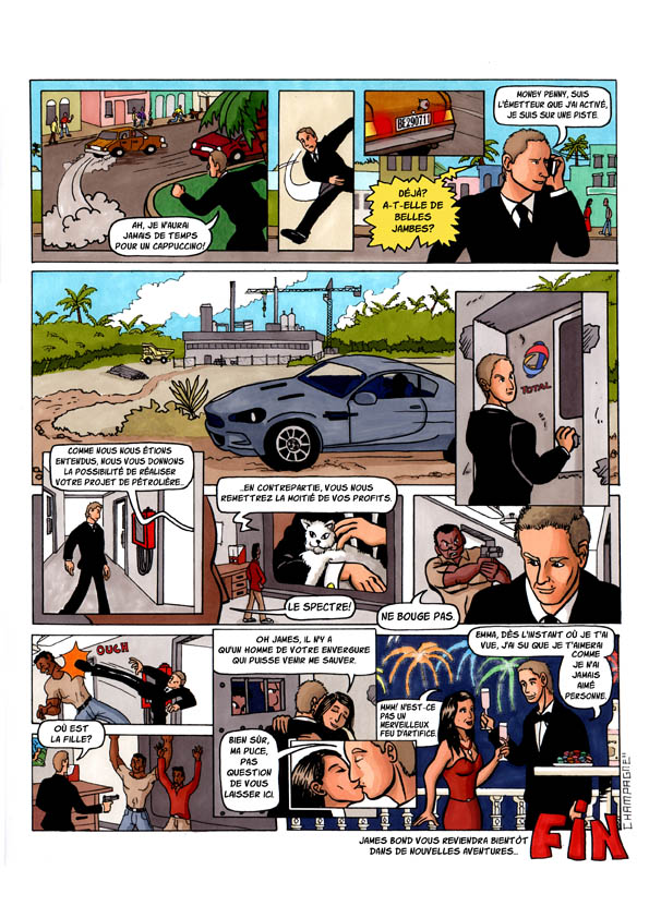 bande dessinee james bond