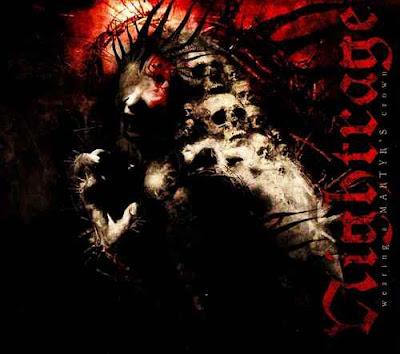 Nightrage - Wearing a Martyr's Crown (2009) Album Artwork