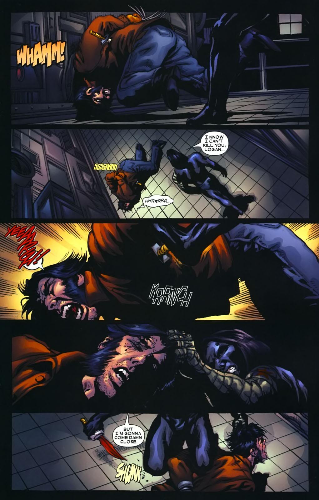 Read online Wolverine (2003) comic -  Issue #39 - 15