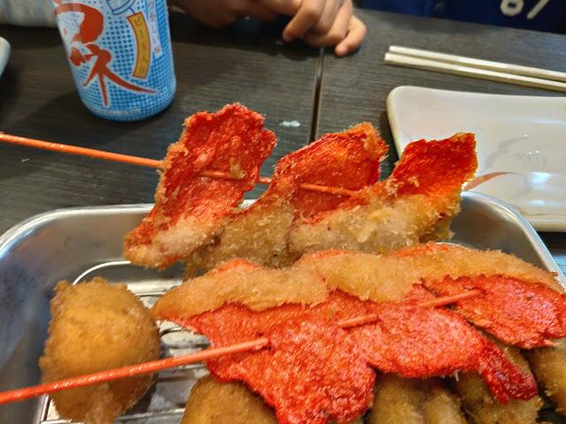 おすすめの紅しょうが串かつ・どて焼き壱番の元祖串かつがおすすめだったのでご紹介します!