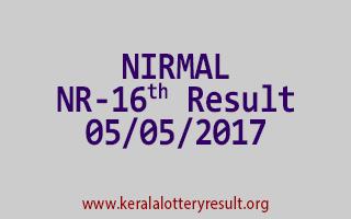 NIRMAL Lottery NR 16 Results 5-5-2017