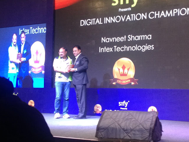 Intex Technologies awarded CIO Crown Award - 2016