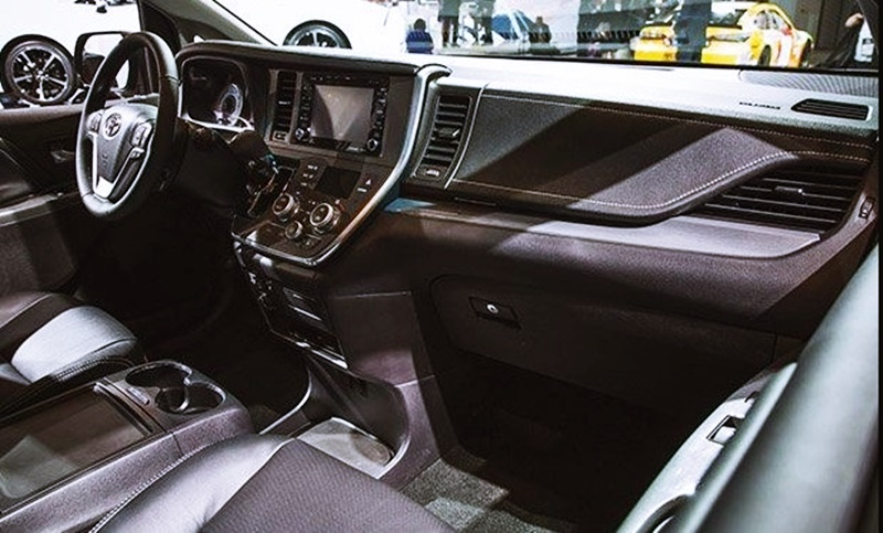 2018 Toyota Sienna Review Specs Mpg Engine