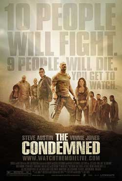 The Condemned 2007 Hindi Dubbed 300MB ENG BluRay 480p