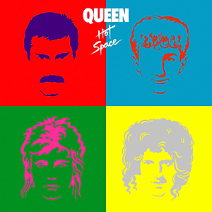 Queen - Hot Space okładka albumu