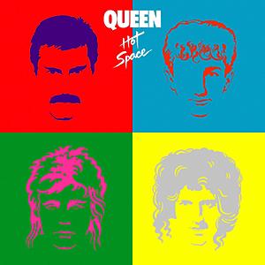 Queen - Hot Space okładka albumu