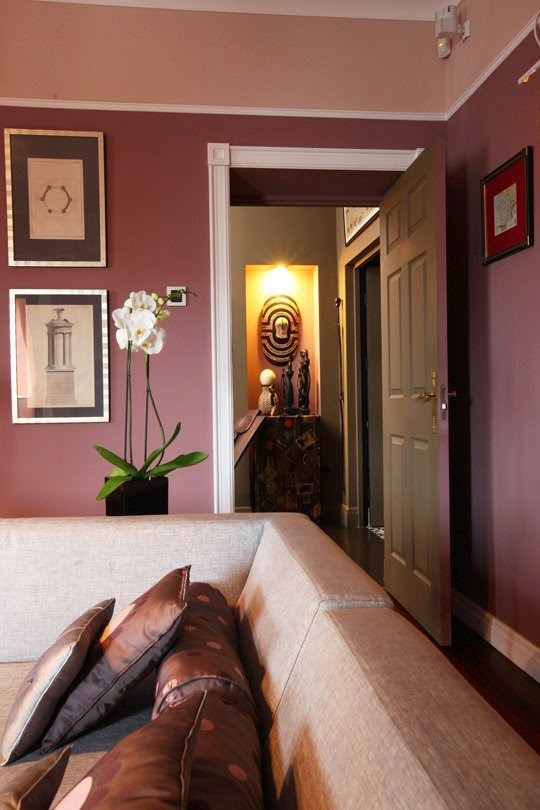 marsala living room pantone