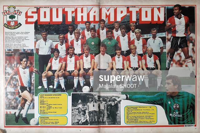TEAM SOUTHAMPTON 1980