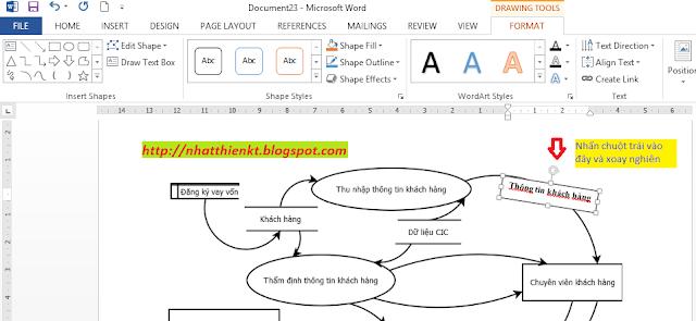 Cách vẽ lược đồ có phần mềm môn Hệ thống thông tin kế toán