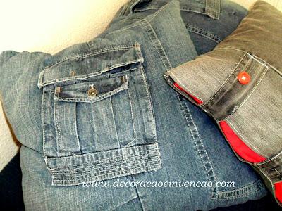 Almofadas Jeans