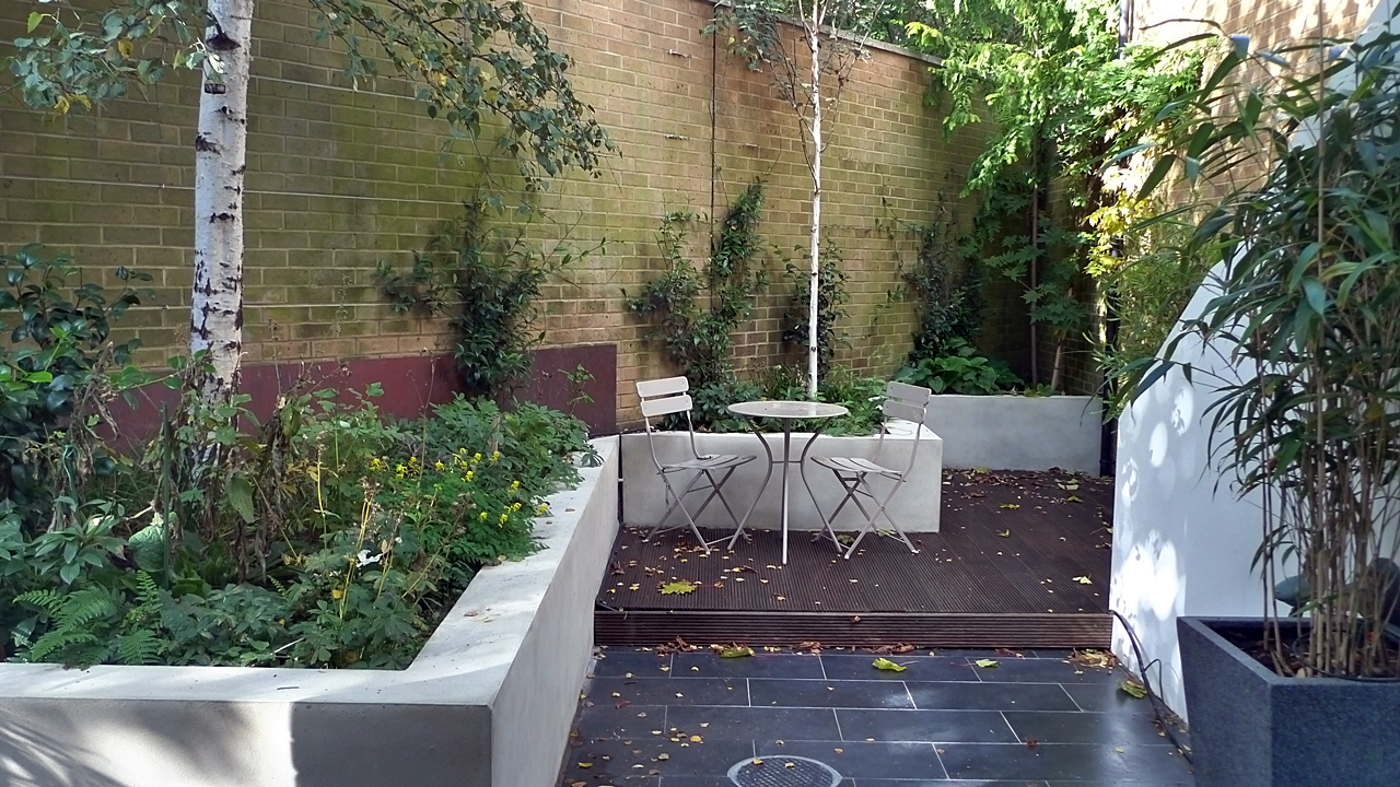 Small garden design in home home and design for Small modern garden design ideas