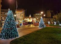 """Το Άργος """"φόρεσε"""" τα Χριστουγεννιάτικα"""